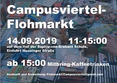Campusviertel-Flohmarkt©Universitätsstadt Marburg