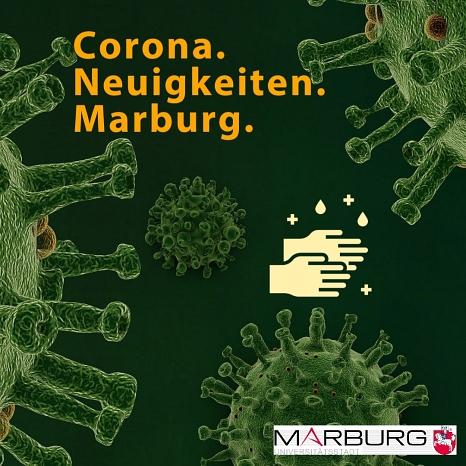 Auf dieser Seite finden Sie Informationen der Stadt Marburg zur Corona-Pandemie.©Universitätsstadt Marburg