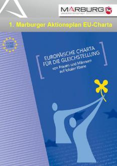 Cover Erster Marburger Aktionsplan EU Charta©Rat der Gemeinden und Regionen Europas