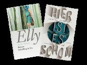 """Cover der Romane """"Elly"""" und """"Hier ist es schön"""""""