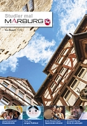 Cover Studier mal Marburg Oktober 2016