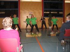 Damengymnastik Haddamshausen zeigt ihr Können©Bernd Weimer