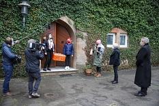 Das hr-Fernsehen hat die Aktion begleitet.©Patricia Grähling, Stadt Marburg