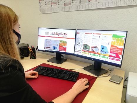 Das Jahresprogramm 2021 ist online auf der neuen Homepage der Jugendförderung verfügbar.©Fachdienst Jugendförderung, Stadt Marburg