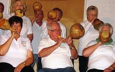 Das Kürbisorchester spielt ohne Noten©Bernd Weimer