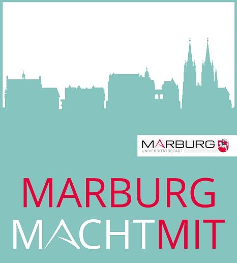 Das Pilotprojekt Stadtteilfonds wird von der Koordinierungsstelle Bürger*innenbeteiligung der Universitätsstadt Marburg in den Stadtteilen Hansenhaus/Glaskopf/Südbahnhof, Altstadt, Richtsberg und Wehrda umgesetzt.©Universitätsstadt Marburg