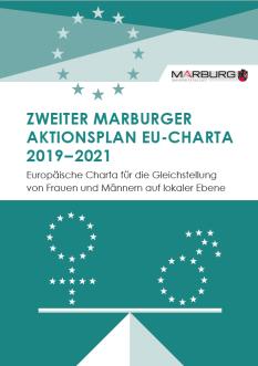 Deckblatt Zweiter Marburger Aktionsplan EU-Charta 2019-2021©Universitätsstadt Marburg