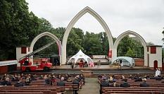 Der Ehrungsabend fand auf der Schlossparkbühne statt.©Stefanie Ingwersen, Stadt Marburg