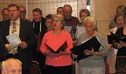 Der gemischte Chor sing
