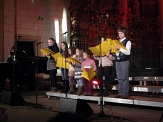 Der jüdische Kinderchor singt©Balduin Winter