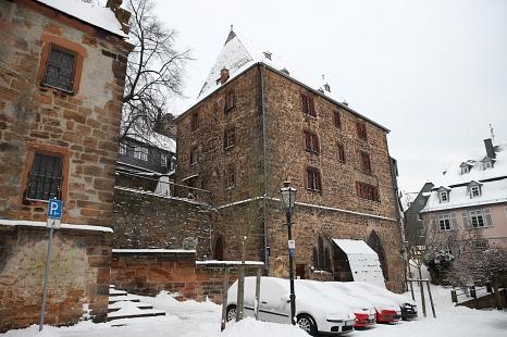 """Der Kerner am Lutherischen Kirchhof in der Ritterstraße wird das neue """"Haus der Nachhaltigkeit"""" beherbergen.©Stefanie Ingwersen, Stadt Marburg"""
