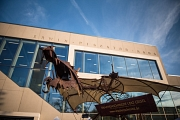 Der Marburger Kunsthandwerkermarkt erstreckt sich im ersten Novemberwochenende im und um das Erwin-Piscator-Haus.