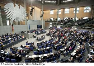 Deutscher Bundestag Plenarsaal©Deutscher Bundestag