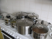 Die Suppenvorbereitung