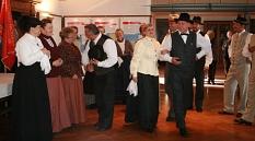 Die Tanzgruppe KUD Milke Zorec präsentierte Tänze aus Slowenien©Universitätsstadt Marburg