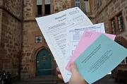 Die Universitätsstadt Marburg sucht für die Direktwahl der Landrätin oder des Landrats am Sonntag, 8. September, sowie für eine eventuell stattfindende Stichwahl am Sonntag, 22. September, ehrenamtliche Wahlhelfer*innen.