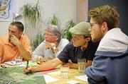 Marburger Bürger*innen kamen erneut zusammen, um bei der Vorbereitung eines Städtebaulichen Wettbewerbes für die Entwicklung des neuen Wohnquartiers am Hasenkopf mitzuwirken.