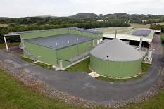 Biogasanlage in Cyriaxweimar