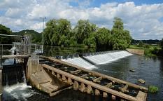 Wasserkraftanlage in Marburg-Wehrda