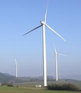 Windkraftanlagen in Marburg Wehrda