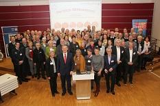 Ganz viel Ehrenamt: Zahlreichen Bürger*innen aus der Stadt Marburg und dem Landkreis wurde die Ehrenamts-Card verliehen.©Landkreis Marburg-Biedenkopf