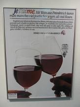 Ein guter französischer Wein gehört zum Savoir-vivre©Universitätsstadt Marburg