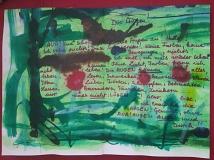 Einblattbuch von Elisabeth Csepeli