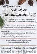 Einladung Lebendiger Adventskalender 2018