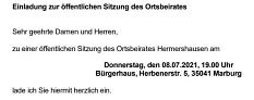 Einladung OBS 08.07.2021©Hubert Detriche