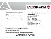 Einladung OBS Hermershausen 23.09.2021