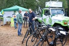 Elektrofahrräder beim Umweltaktionstag©Universitätsstadt MarburgFachdienst Umwelt, Fairer Handel, Abfallwirtschaft