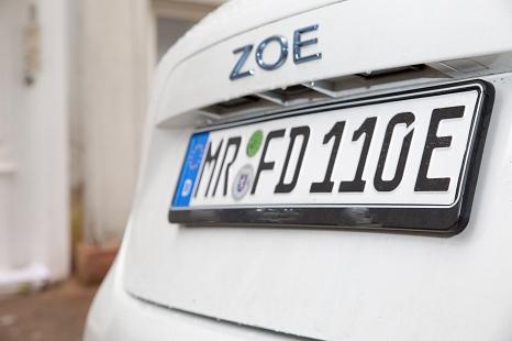 Elektrofahrzeuge dürfen in Marburg auch ohne Antrag auf Gebührenbefreiung kostenlos parken©Stadt Marburg, Patricia Grähling