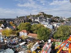 Elisabethmarkt 2019: Aussicht vom Riesenrad©Stadtmarketing Marburg e. V.