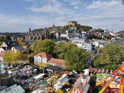 Elisabethmarkt 2019: Aussicht vom Riesenrad