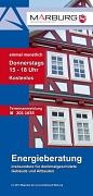 Energieberatung Marburg, Anmeldung unter Tel. 201 1635