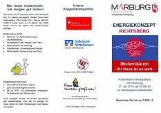 Energiekonzept Richtsberg Infoveranstaltung 21.07.2015©Universitätsstadt Marburg