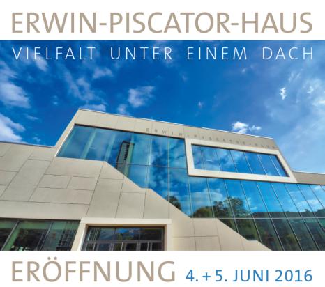 Eröffnung Erwin-Piscator-Haus©Satzzentrale GbR