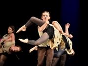 Mit Modern Jazz Formationen begeisterte die Tanzcompagnie der Choreografin Ekaterina Khmara das Publikum im Saal.