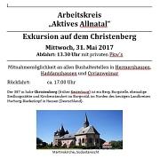 Fahrt zum Christenberg