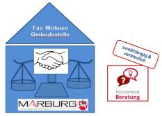 Fair Wohnen - Beratungsangebot für Mieterinnen und Mieter in Marburg©FB 4