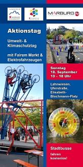 Faltblatt-Titelseite-zum Umweltaktionstag 2016©Universitätsstadt Marburg