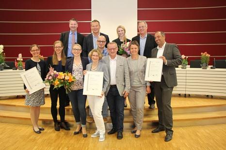 Familienfreundliche Unternehmen 2016©Landkreis Marburg-Biedenkopf