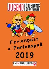 Das Deckblatt des Ferienpass' 2019©Universitätsstadt Marburg