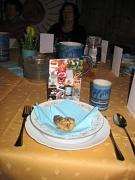 Der Tisch ist festlich gedeckt