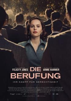 """Anlässlich des Equal Pay Days gibt es eine Vorführung des Films """"Die Berufung"""" am Montag, 18. März, um 18 Uhr im Filmkunsttheater Capitol.©Entertainment One Germany"""
