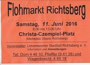 Flohmarkt Richtsberg Juni 2016