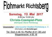 Flohmarkt 13. Mai 2017