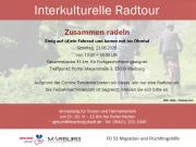 Flyer Interkulturelle Radtouren