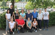 13 Nachwuchskräfte haben in diesem Sommer über die Marburger Bildungsoffensive (MaBison) eine Fortbildung abgeschlossen, um Bewegungsangebote in Kindertagesstätten anbieten zu können.