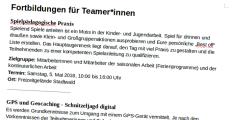 Ein Ausriss aus einem Text, in dem Fortbildungen beschrieben werden.©Universitätsstadt Marburg
